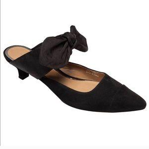 LINEA PAOLO Chrissy Bow Adorned Kitten Heel Sz 8